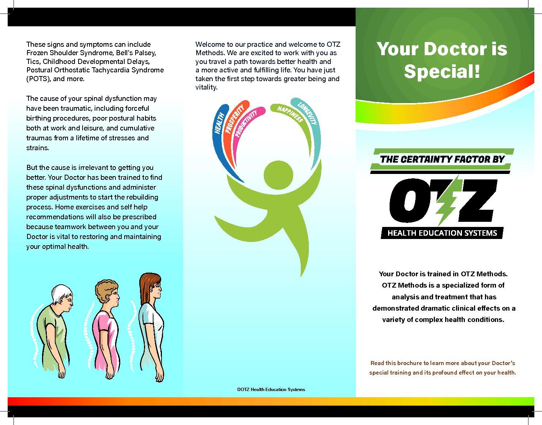 Patient Education Brochure Otz Health Education Systems